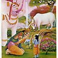 Krishna_bathes_in_milk_of_cow