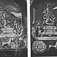 BODHISATTVA EXPERIENCES THE WORLD, 11TH CENTURY RELIEF, BURMA