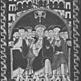 THE PENTECOST, 12TH CENTURY IKON