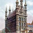 THE TOWN HALL OF LOUVAIN.
