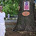 RALPH UNDER THE PRABHUPADA TREE