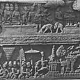RELIEFS AT BOROBODUR, JAVA