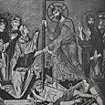 THE RESURRECTION,11TH CENTURY MOSAIC