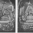 GROWN BODHISATTVA EXPERIENCES THE WORLD, 11TH CENTURY RELIEF, BURMA