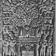 UNDER THE BODHI-TREE,BODHISATTVA BECOMES THE BUDDA