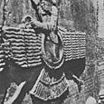 AHURA MAZDAH, FROM GRAET ROCK RELIEF AT BEHISTUM