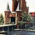 THE AMSTERDAM GATE AT HAARLEM.
