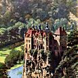 CHATEAU DE WALZIN IN THE FOREST OF ARDENNES.