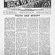 BACK TO GODHEAD, 1944