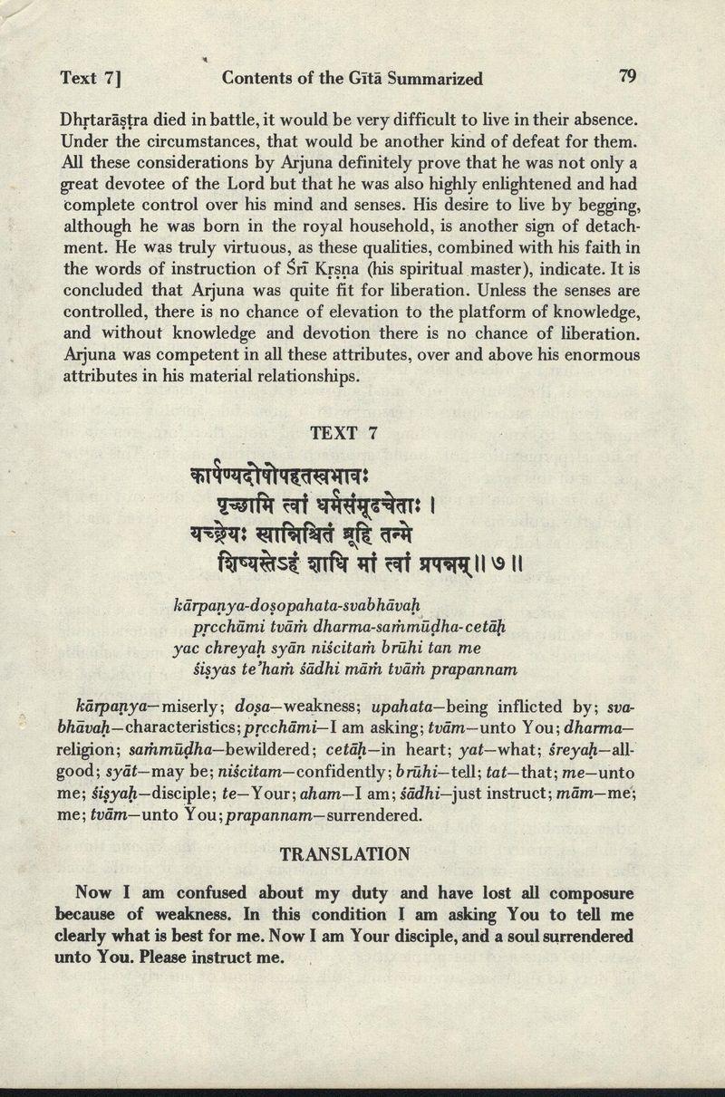 Bhagavad-gita As It Is 79