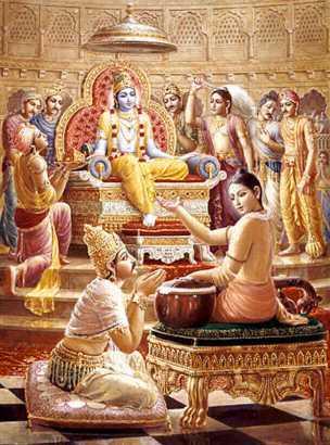 Narada-yudhisthira