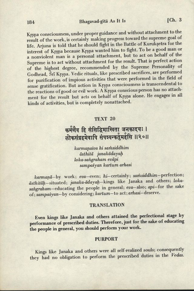 Bhagavad-gita As It Is 184