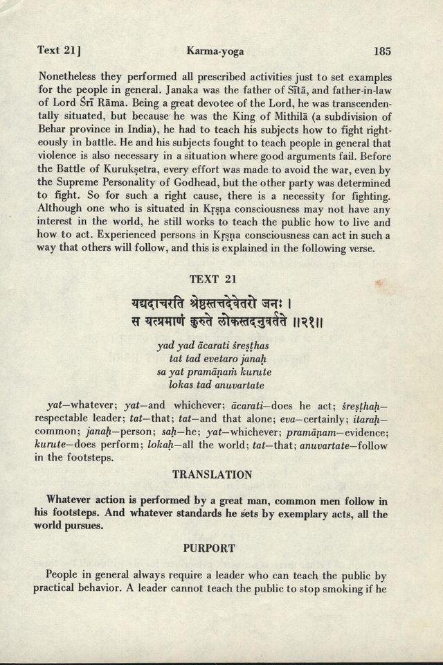 Bhagavad-gita As It Is 185
