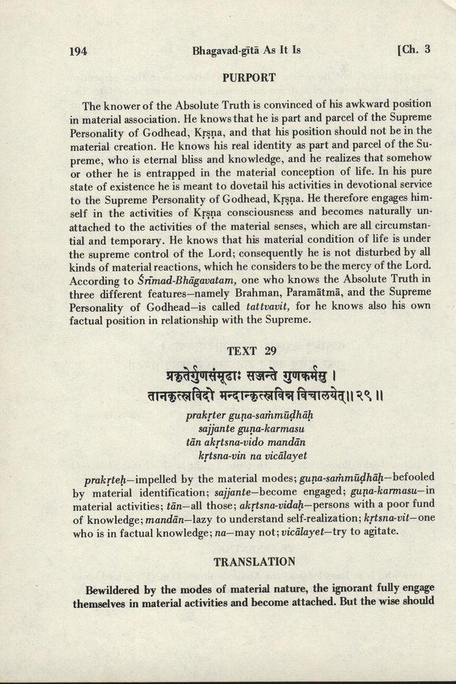 Bhagavad-gita As It Is 194