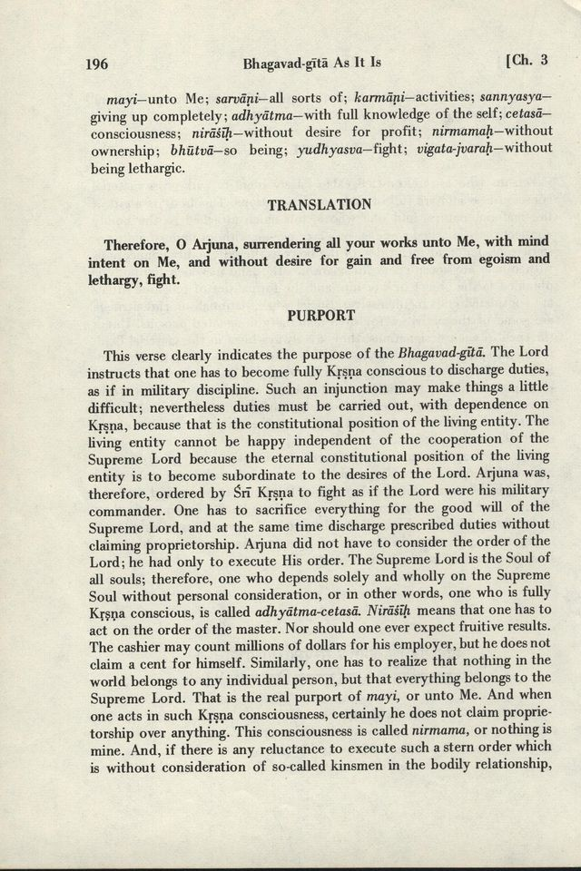 Bhagavad-gita As It Is 196