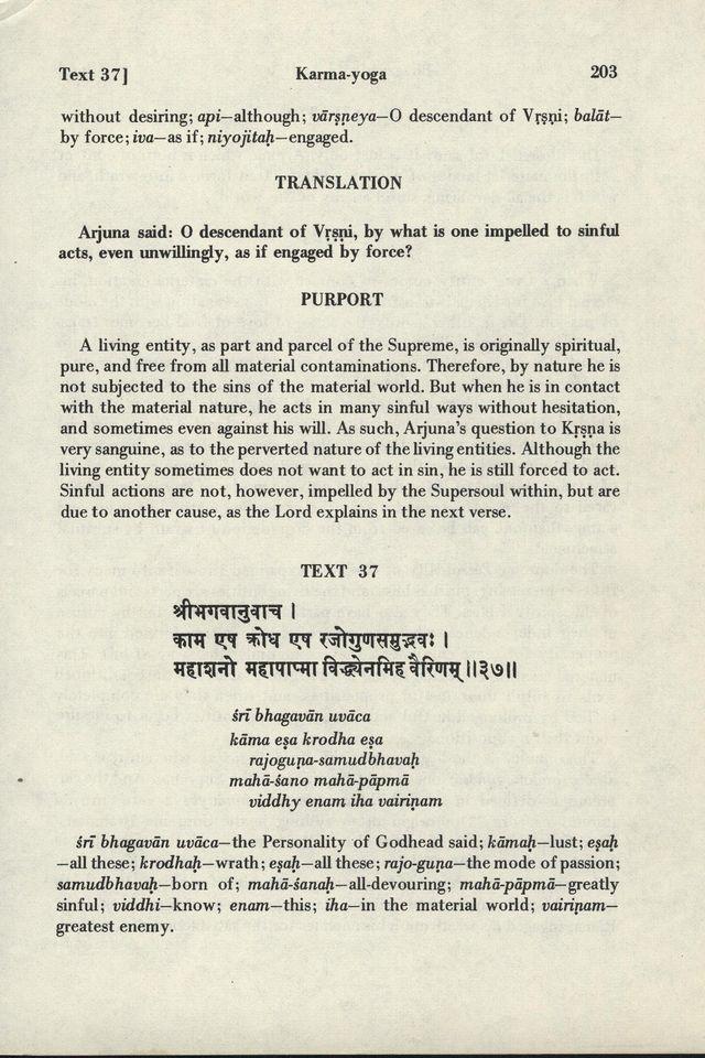 Bhagavad-gita As It Is 203