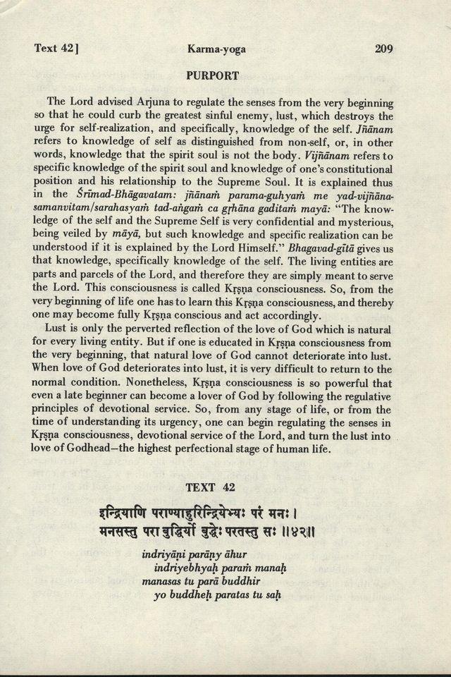 Bhagavad-gita As It Is 209