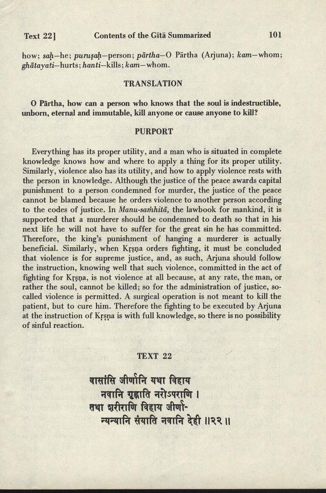 Bhagavad-gita As It Is 101