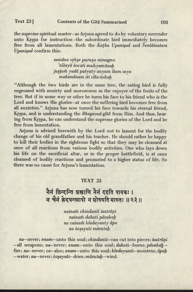 Bhagavad-gita As It Is 103