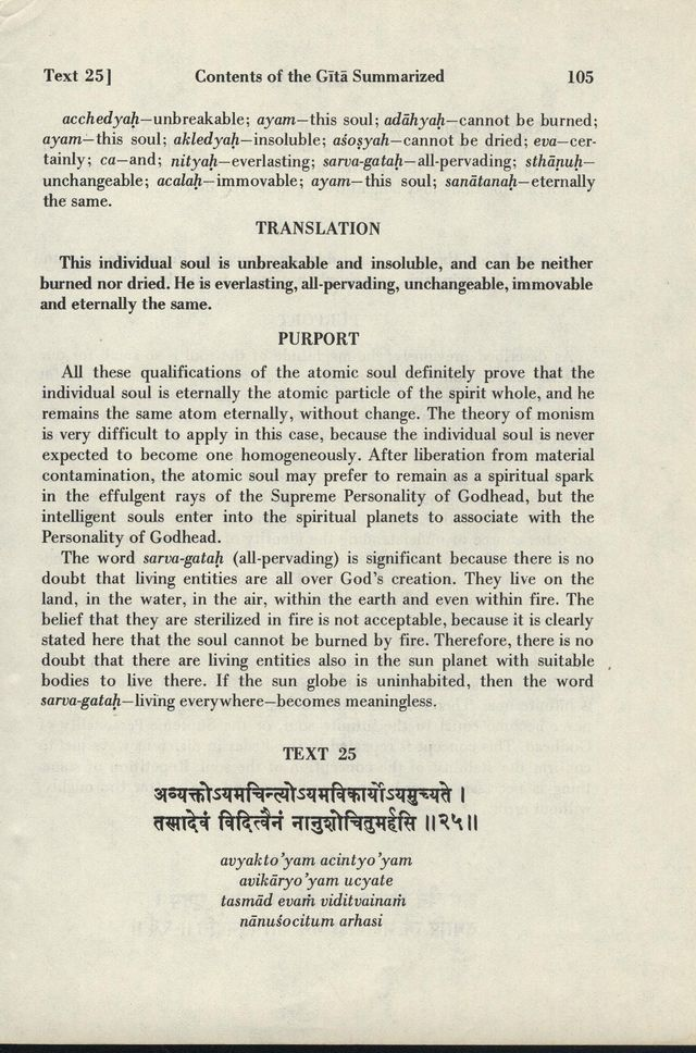 Bhagavad-gita As It Is 105