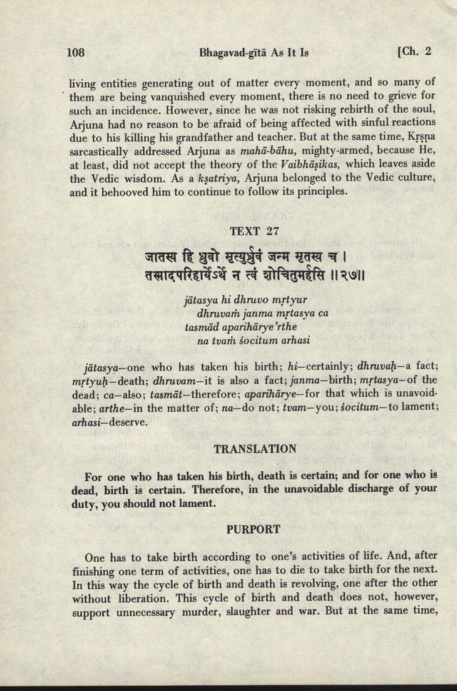 Bhagavad-gita As It Is 108