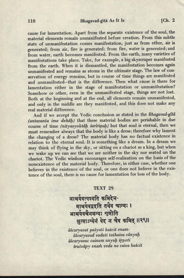 Bhagavad-gita As It Is 110