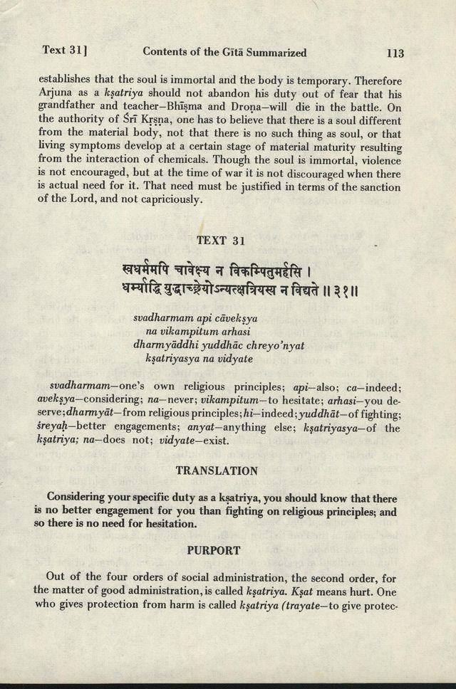 Bhagavad-gita As It Is 113