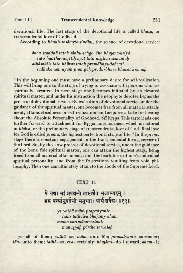 Bhagavad-gita As It Is 231