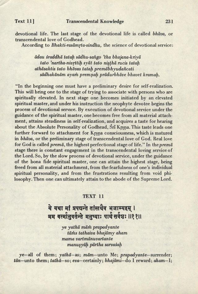 Bhagavad-gita As It Is 231