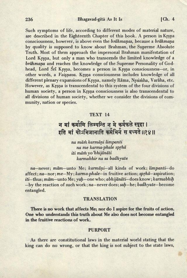 Bhagavad-gita As It Is 236