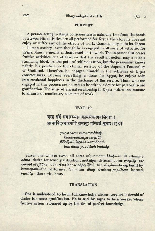 Bhagavad-gita As It Is 242