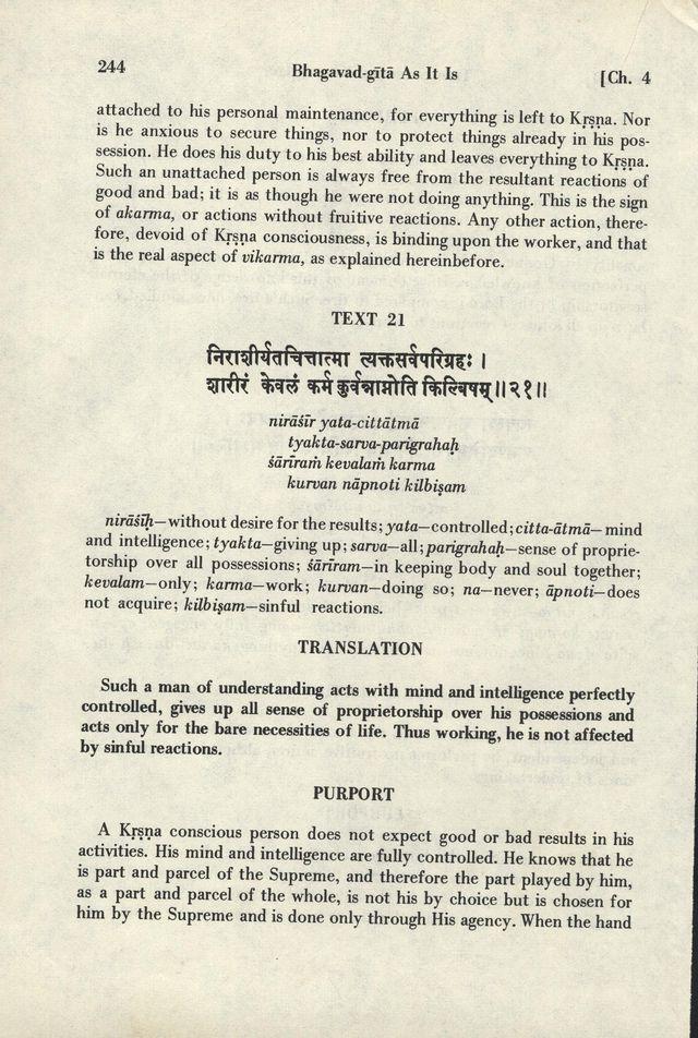 Bhagavad-gita As It Is 244