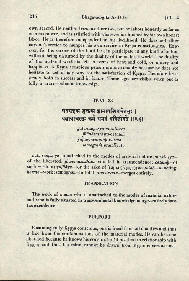 Bhagavad-gita As It Is 246