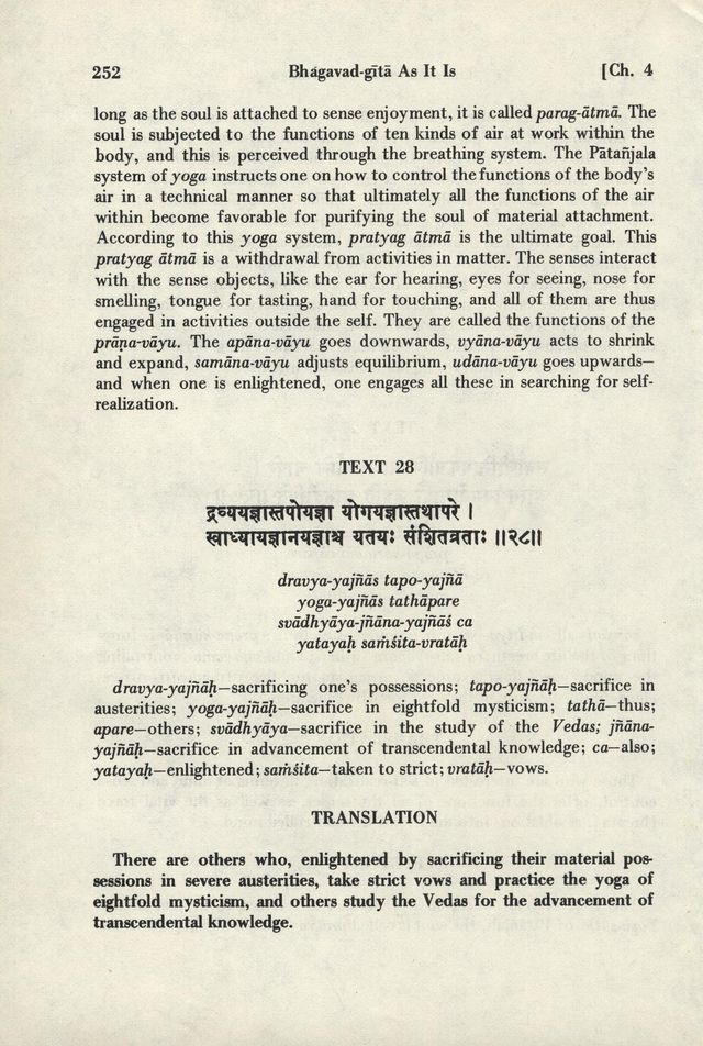 Bhagavad-gita As It Is 252