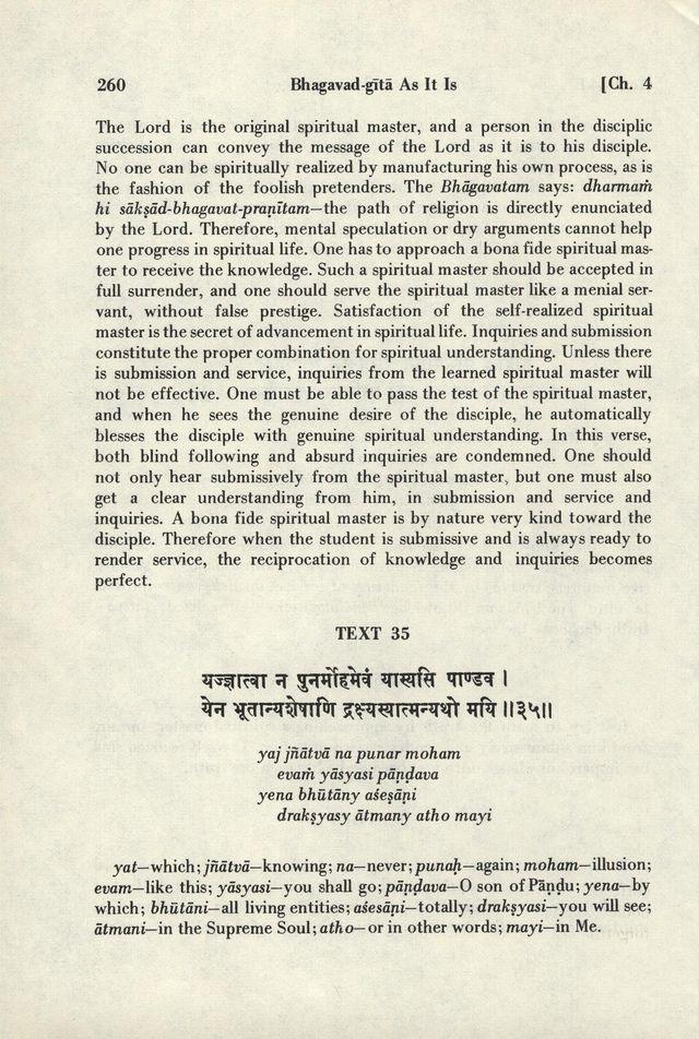 Bhagavad-gita As It Is 260