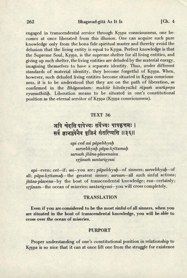 Bhagavad-gita As It Is 262