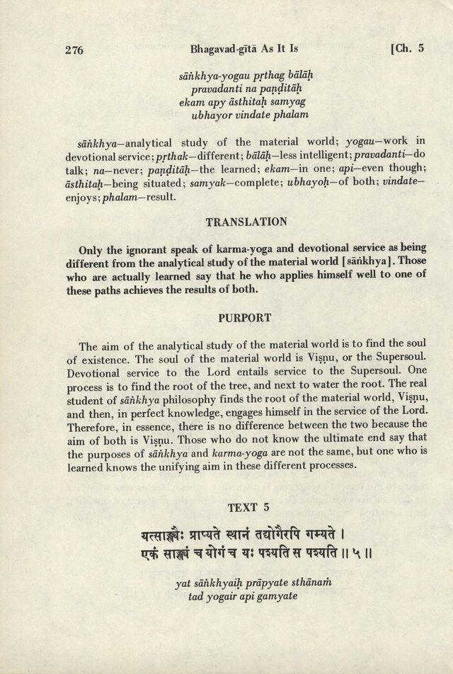 Bhagavad-gita As It Is 276