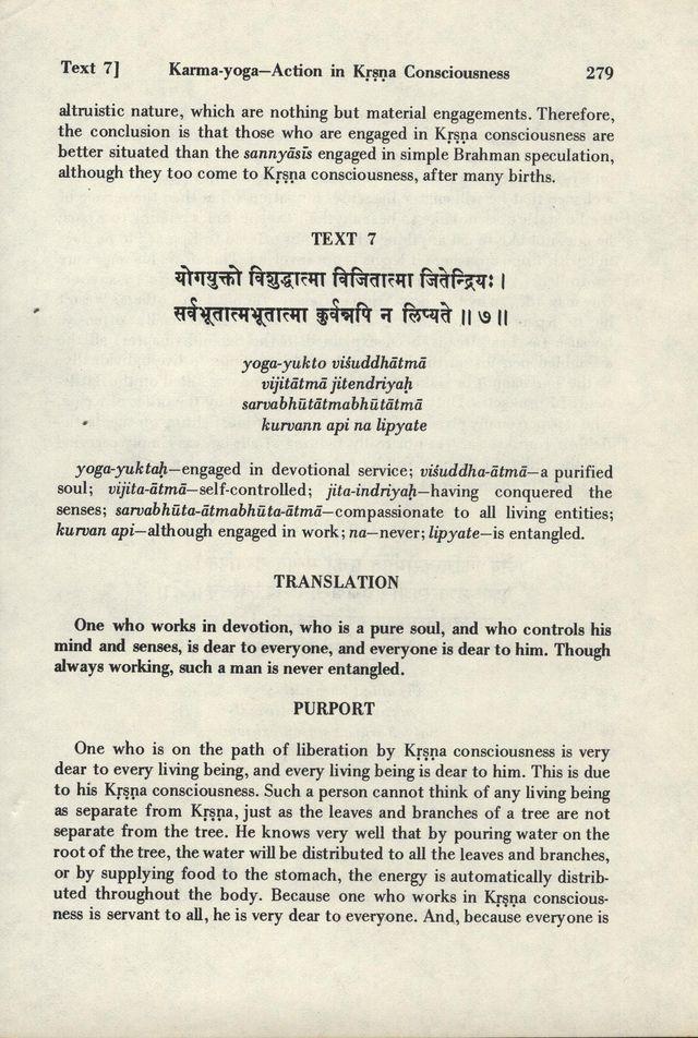 Bhagavad-gita As It Is 279