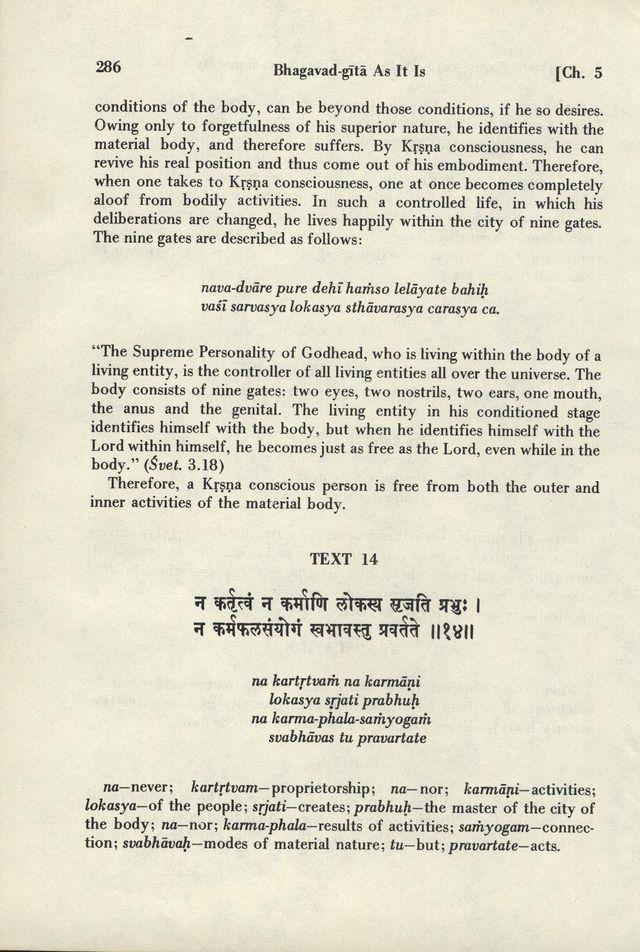 Bhagavad-gita As It Is 286