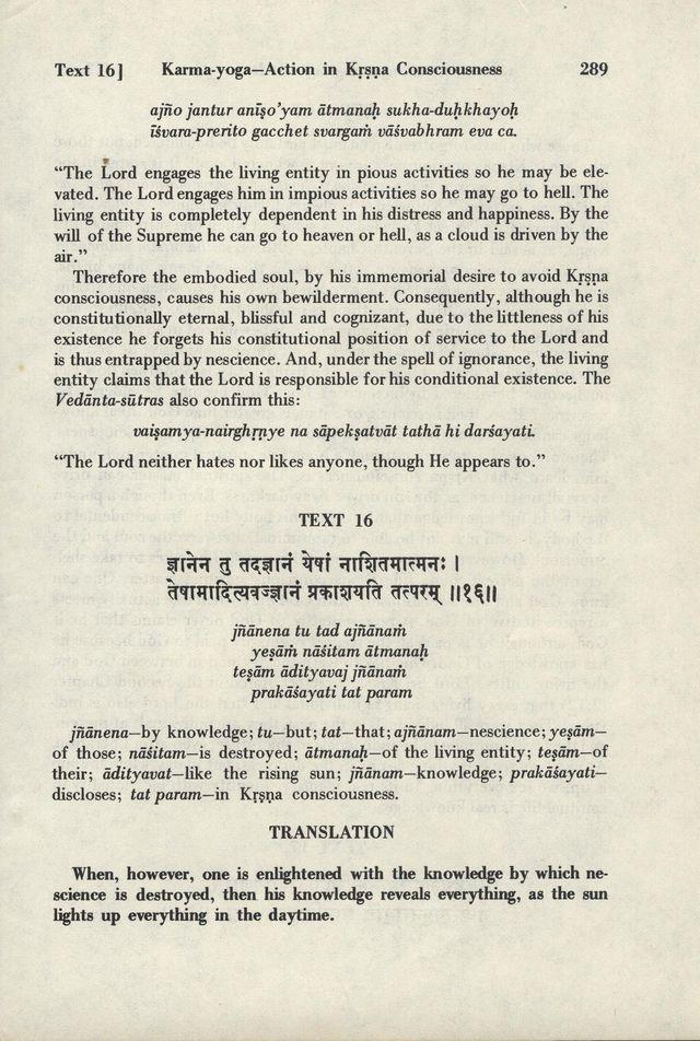 Bhagavad-gita As It Is 289