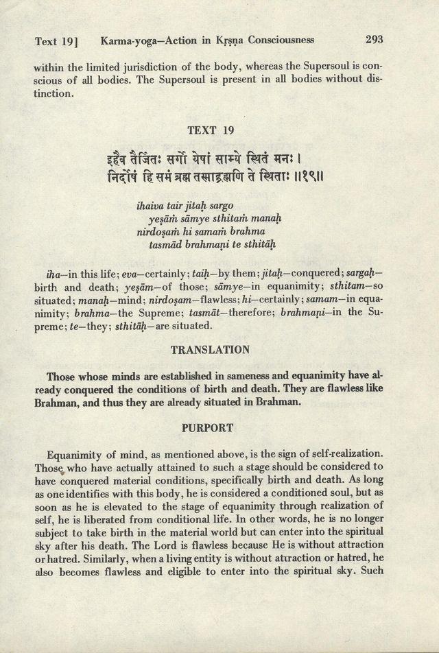 Bhagavad-gita As It Is 293