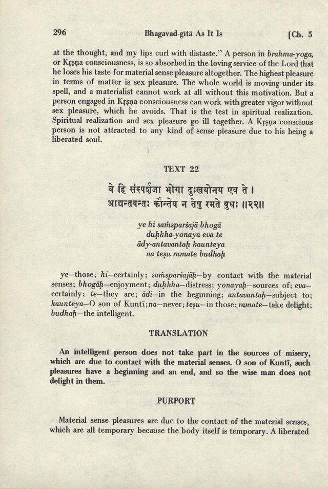 Bhagavad-gita As It Is 296
