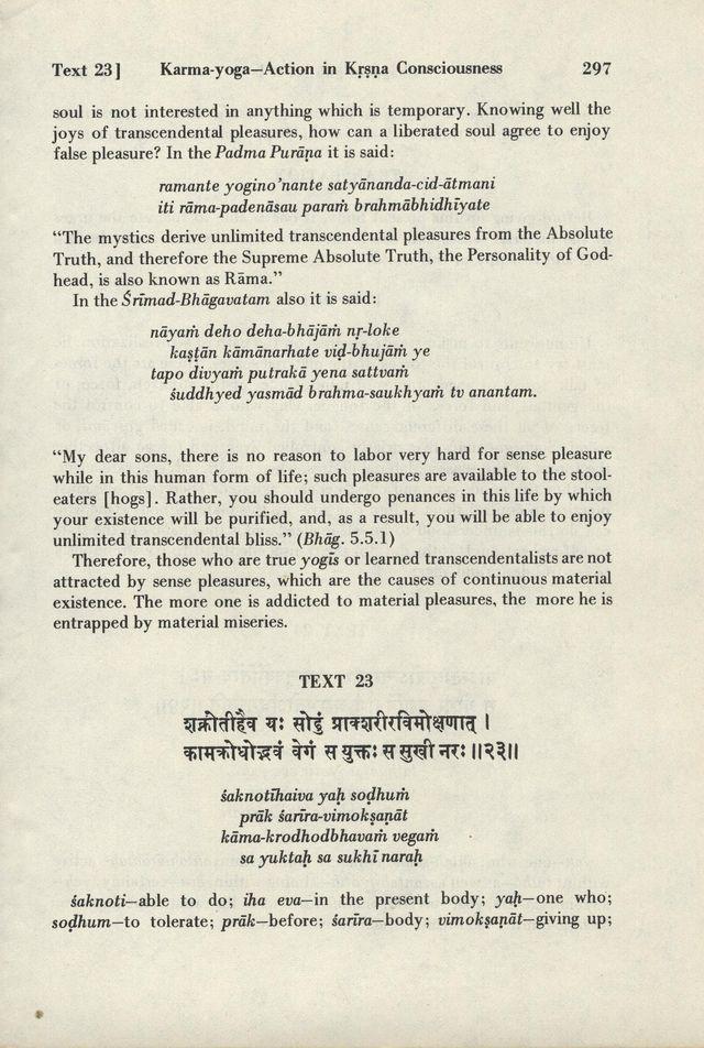 Bhagavad-gita As It Is 297