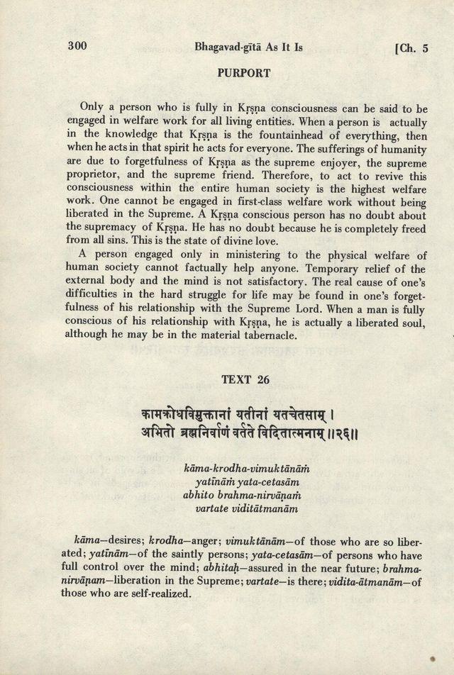 Bhagavad-gita As It Is 300