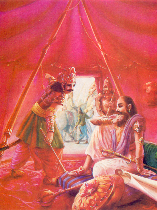 """""""O MY TEACHER, BEHOLD THE GREAT ARMY OF THE SONS OF PANDU"""""""