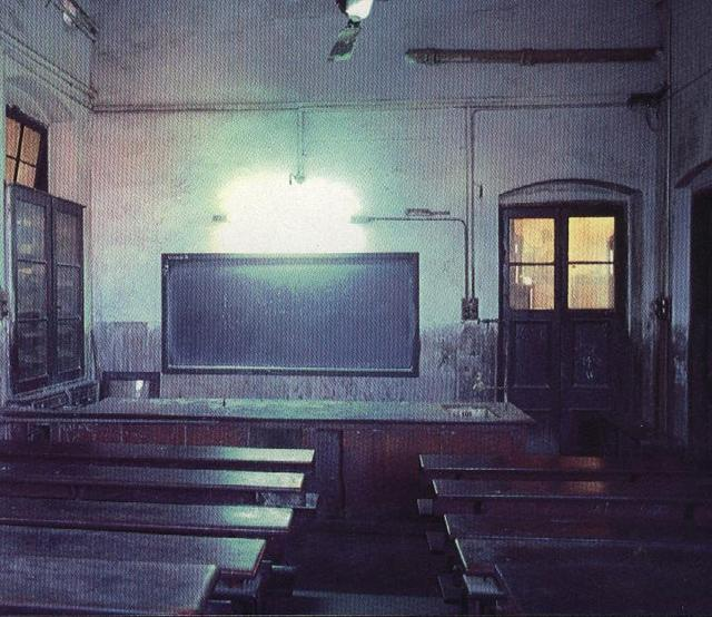 A CLASSROOM IN SCOTTISH CHURCHES COLLEGE.