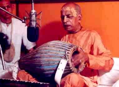 Recording Bhajana