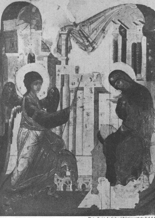 THE ANNUNCIATION,15TH CENTURY IKON
