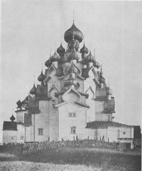 CHURCH OF THE TRANSFIGURATION,KIZHI