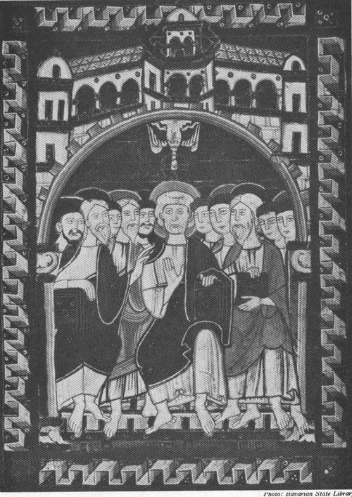 THE PENTECOST, 12TH CENTURY IKON